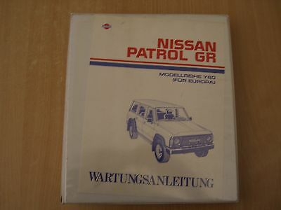 Workshop manual Repair manual Nissan Patrol GR Y60