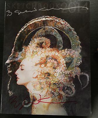 Bill Sienkiewicz 2014 Sdcc Exclusive Sketchbook Rare & Sold Out :-) Signed !!!