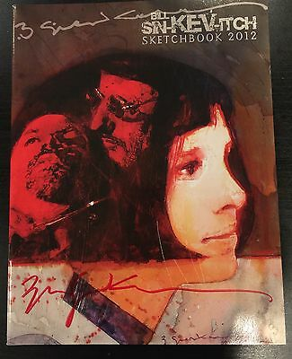 Bill Sienkiewicz 2012 Sdcc Exclusive Sketchbook Rare & Sold Out :-) Signed !!!