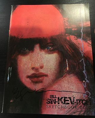 Bill Sienkiewicz 2010 Sdcc Exclusive Sketchbook Rare & Sold Out :-) Signed !!!