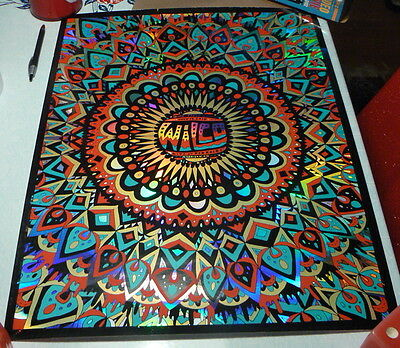 Wilco 7/14/2015 Red Rocks Holofoil Print Duval Limited Edition Poster Denver