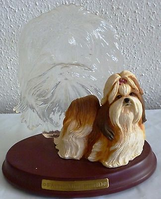 2003 Bradford Exchange 1st Issue figurine THE BEAUTIFUL SHIH TZU