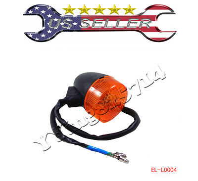 Front Turn Signal Light GY6 50cc 150cc 12V 2Pin Scooter Moped Motorcycle Chinese