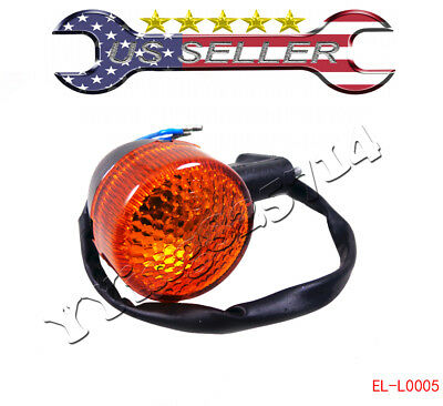 Rear Turn Signal Light GY6 50 150cc 12V 2 Pin Moped Scooter Motorcycle Chinese