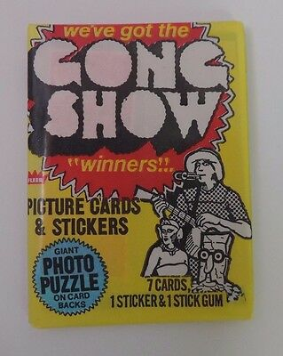 Fleer 1977 The Gong Show Unopened Wax Pack