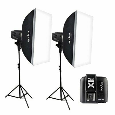 Godox AD600BM 2.4G HSS Studio Flash + X1T Transmitter +Softbox + Light Stand Kit