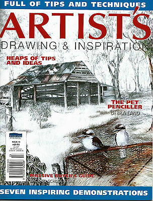 Artist's Drawing & Inspiration Magazine Issue 19. 2015,