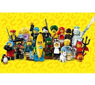 LEGO Series 16 Minifigures full complete set