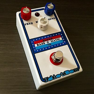 Idiotbox Effects - Super Bass O-Matic '76 Pedal. New! Authorized Dealer!