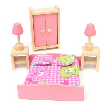Superb Tidlo Dolls House Furniture   Tidlo Wooden Dolls House Furniture Set  Bedroom Chf 23 68 Picclick