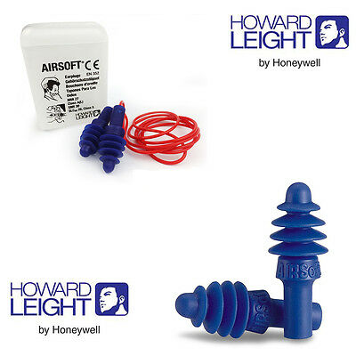 Howard Leight by Honeywell Reusable Ear Plugs - Airsoft  Earplug SNR 30dB