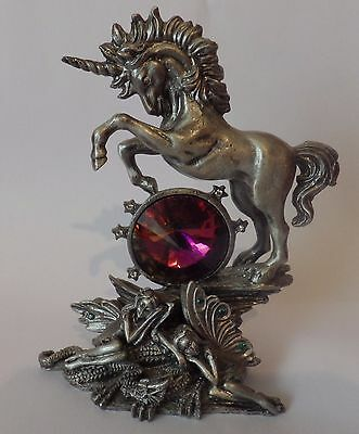 Tudor Mint Myth & Magic Collectors Unicorn Figurine - Dream Weaver # MM4089