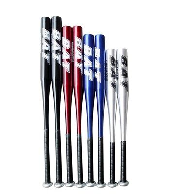 Baseball Stick Thick Defensive Weapon Vehicle-mounted Steel Stick blue 32 inches