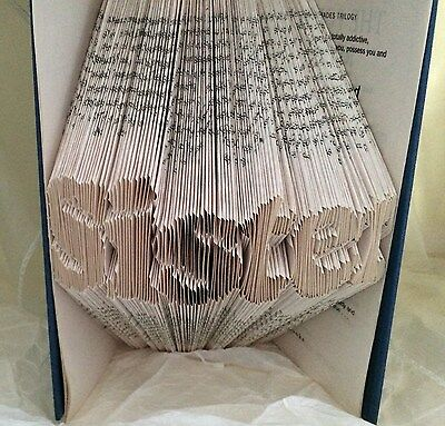 Book folding art pattern Sister style 1 folded book pages 534 (pattern only)