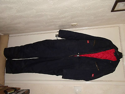 Dickies Quilted Boiler Suit , Large, Blue,new And Never Worn