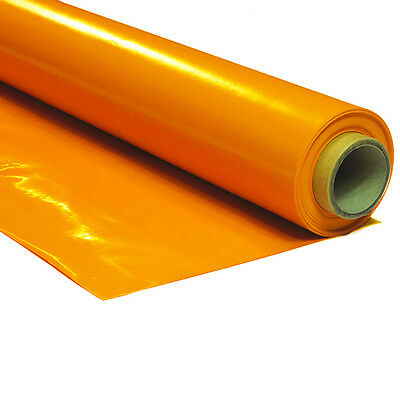 Lackfolie Lack Folie 150my - ORANGE - 1,3m x 30m Rolle - Tischdecke Biertisch