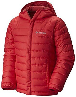 Columbia Powder Lite Puffer Piumino Sintetico - Rosso (Mountain Red) - XS