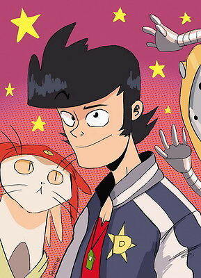 "DM03685 Space Dandy - Japan Comedy Anime 24""x33"" Poster"