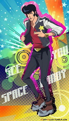 "DM03663 Space Dandy - Japan Comedy Anime 24""x42"" Poster"