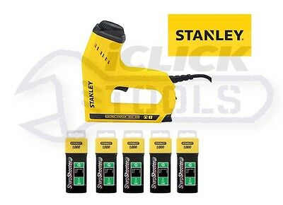 Stanley STA0TRE550 Electric Heavy-Duty Staple Nail Gun 0-TRE550 With Staples New
