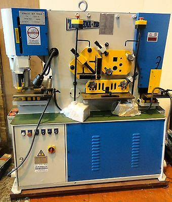 New Hydraulic Metal Worker 5 Station - Twin Pedal -  55 ton capacity