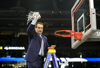 "TY06259 Mike Krzyzewski - Coach K  Basketball 1000 Wins 35""x24"" Poster"