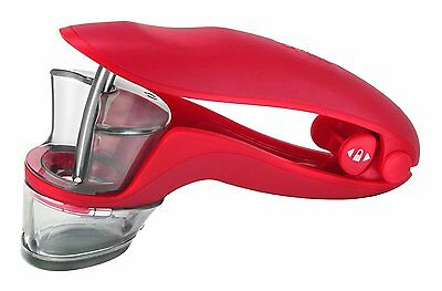Zyliss Red Cherry & Olive Pitter Stone Remover Stoner E30510 Dishwasher Safe