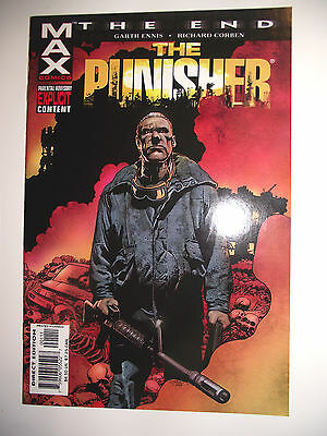 MAX Comics The End Punisher One Shot VF (8.0)