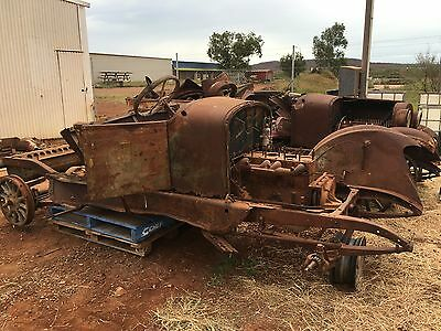 Dodge Brothers Circa 1920's x 2 Spares engines wheels grills headlights