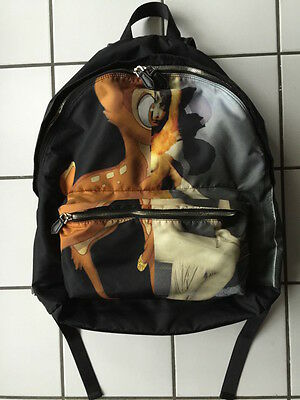 Backpack Givenchy sac a dos BAMBI disney black SOLD OUT