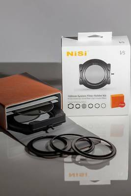 Nisi 100mm V5 Square Filter System ND/GND/CPL Filter Hold Support Install Filter