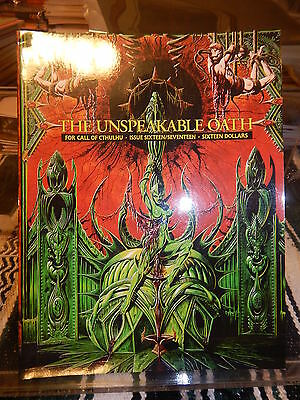 The Unspeakable Oath Issue 16/17 for Call of Cthulhu  by John Tynes