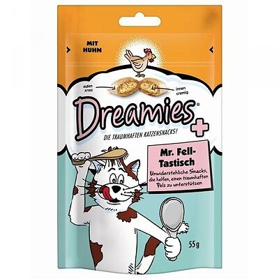 Dreamies Cat Mr. Fell-Tastisch 55g