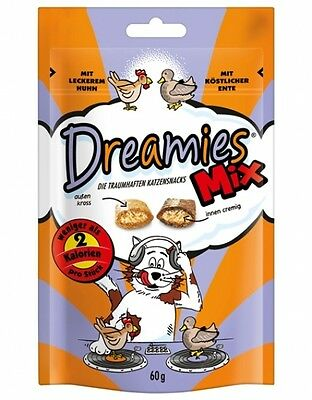 Dreamies Cat Snacks Mix mit Huhn & Ente 60g