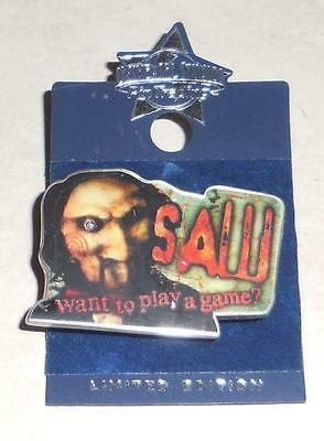 Universal studios Halloween Horror nights Limited edition Saw icon pin