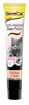 GimCat Anti-Hairball Duo Paste Huhn&Malz 50g