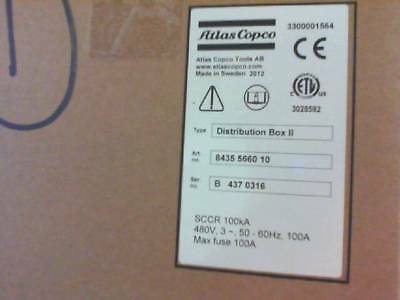 ATLAS COPCO DISTRIBUTION BOX II 8435 5660 10 **New in Factory Packaging**