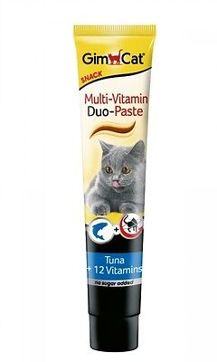 GimCat Multi-Vitamin Duo-Paste Thunfisch + 12. Vitamine