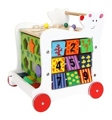 Bear Walker Cart Chidren's Baby Multiple Activity Toy from Small Foot