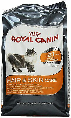 Royal Canin Cat Food Hair & Skin Care 33 Dry Mix 4 kg Soya and Borage/Fish Oils
