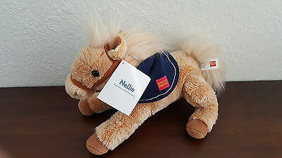 2015 Wells Fargo Nellie Stuffed Animal Plush Pony Horse Collectible New w Tag