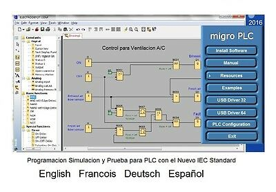 PLC Programming Software for Programmable Logic Controllers Automation Spanish