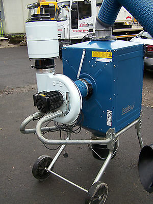 Nederman filter box fume extractor