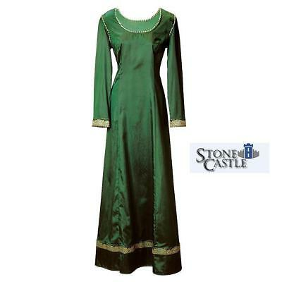"""Medieval Elegant English Emerald Green """"Dream"""" Dress Perfect for Stage & Costume"""