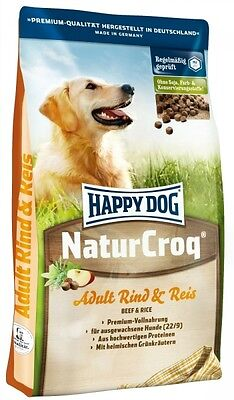 Happy Dog Natur-Croq Rind & Reis 1kg