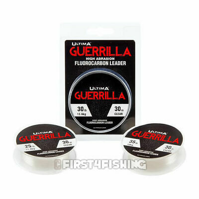 Ultima Guerrilla High Abrasion Fluorocarbon Leader - Carp Coarse Fishing Line