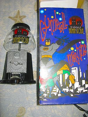 Batman And Robin Gum Ball Machine From Warner Brothers Store