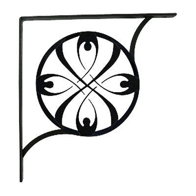 Ribbon - Shelf Brackets Small PAIR 1/2 In. x 5 1/4 In. x 5 1/4 In.