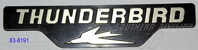 Triumph 83-8191 sidecover Thunderbird styling badge seitendeckel emblem TR65