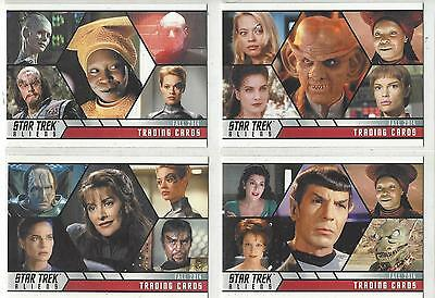 Star Trek Aliens Promo Set P1 - P4